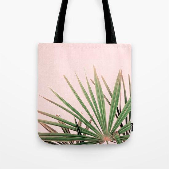 Palms blossom Tote Bag