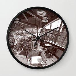 Coffee shop Wall Clock