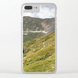 Rocky Mountain National Park Tundra Skyline Clear iPhone Case