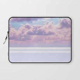 Dreamy Pastel Sky on Violet Laptop Sleeve