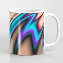 Abstract Fractal Colorways 03 Southwestern Coffee Mug