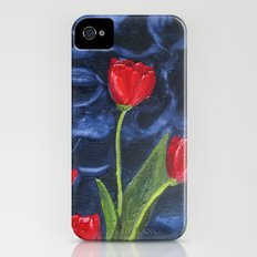 Tulips are red... Slim Case iPhone (4, 4s)