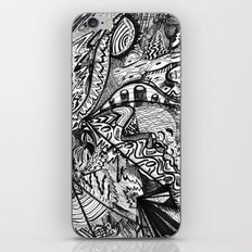 BLACK THOUGHTS  iPhone & iPod Skin