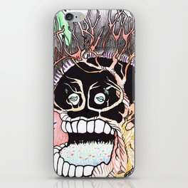 Nature yourself Tree Skull iPhone Skin