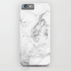White Marble Slim Case iPhone 6
