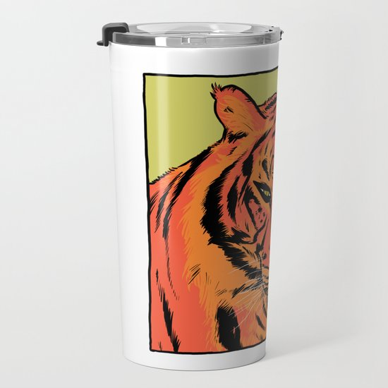 Tieger Travel Mug By Yowaspmamen Society6