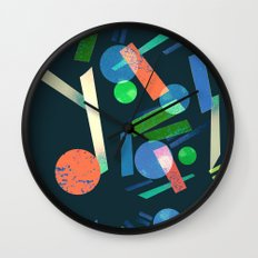 Geometry 3 Wall Clock
