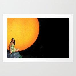 Hawaiian Sun Art Print