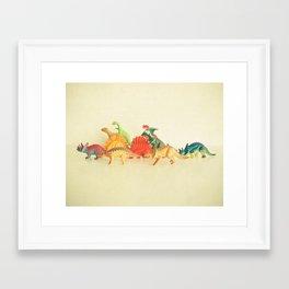 Walking With Dinosaurs Framed Art Print