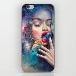 BLACK HOLE IN THE MILKY WAY iPhone Skin