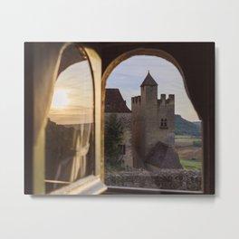 Castle Views Metal Print