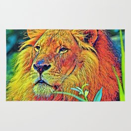 AnimalColor_Lion_005_by_JAMColors Rug