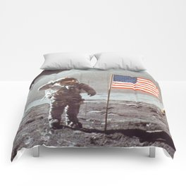 American Moon Landing Comforters
