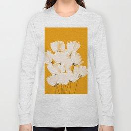 Flowers In Tangerine Long Sleeve T-shirt