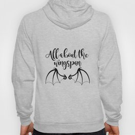 All about the wingspan white design Hoody