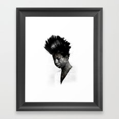 NINA'S NOT DEAD Framed Art Print