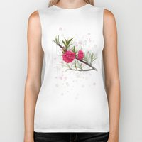 blossom Biker Tanks featuring Blossom by IvaW
