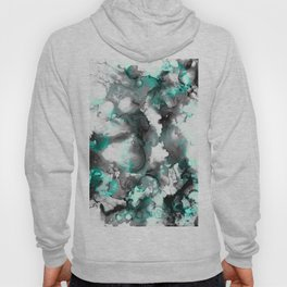 abstract smoke sky inks Hoody