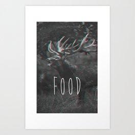 deer food Art Print
