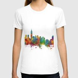 Taipei Taiwan Skyline T-shirt