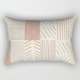 Rustic Tiles 02 Rectangular Pillow