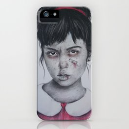 Princess Issues iPhone Case
