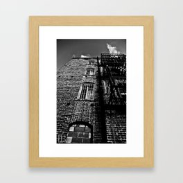 City Life Framed Art Print
