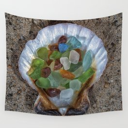 Beach Finds Wall Tapestry