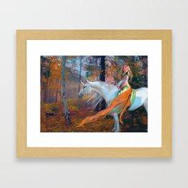 En el Bosque de los Susurros Framed Art Print