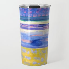 Sea After Sunset - Piet Mondrian Travel Mug