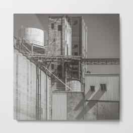 North Texas Industrial Geometry Metal Print
