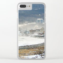 The Sea and the Cove Clear iPhone Case