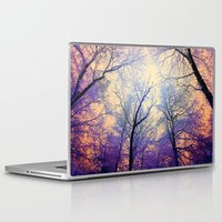 bebop Laptop & iPad Skins featuring Snow Angel's View - Nature's Painting (color 2) by soaring anchor designs