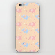 The Patterned Ear Elephant iPhone & iPod Skin