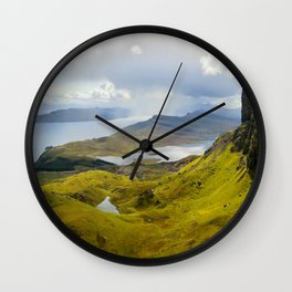 Virgin Landscape Wall Clock