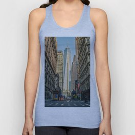 One World Trade Canter In The Making Unisex Tank Top