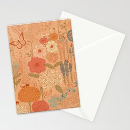 Bee Garden Stationery Cards