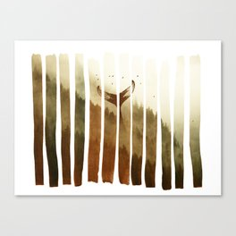 Tail Fin Canvas Print