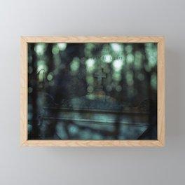 When Two Worlds Collide Framed Mini Art Print