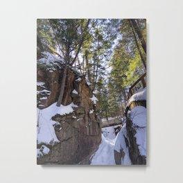 Frozen Sabbaday Falls NH (5) Metal Print