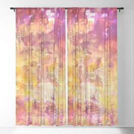 Hot Flash Sheer Curtain