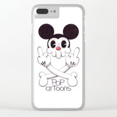 Skulltoons Nr.5 Clear iPhone Case