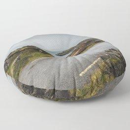 wild atlantic way Floor Pillow