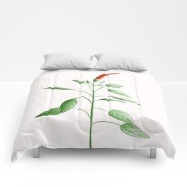 Little Hot Chili Pepper Plant Comforters