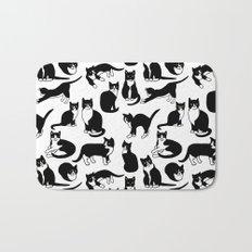 Tuxedo Cats Bath Mat