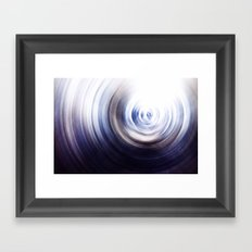 Evening Storm Framed Art Print