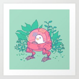 Technical Support Duck Art Print