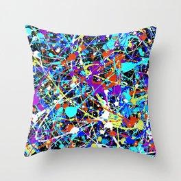 Splat! 2 (Inside Out) Throw Pillow