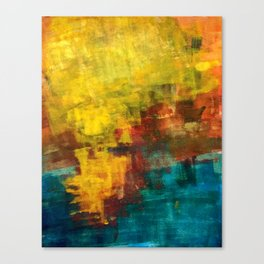 sun strokes Canvas Print