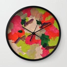 Abstract muse Wall Clock
